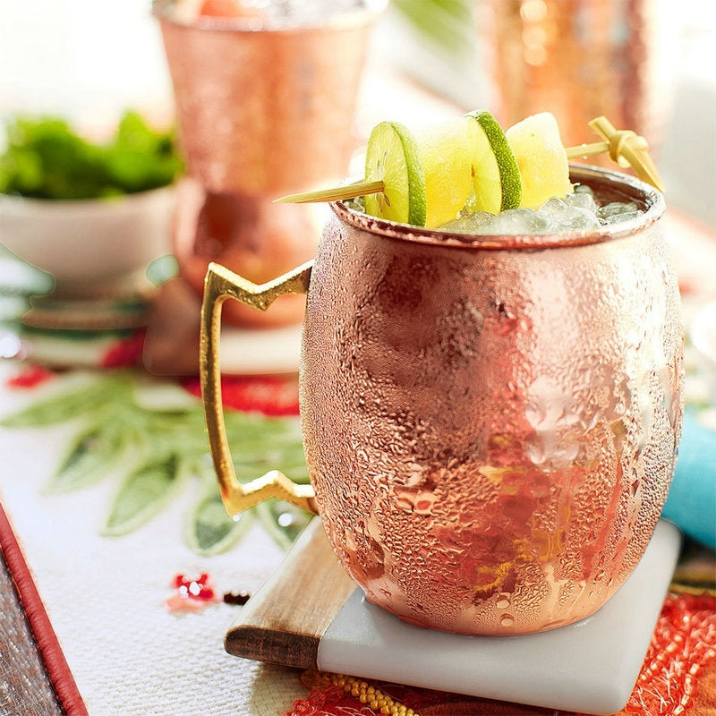 2 Piece Moscow Mule Copper Mugs