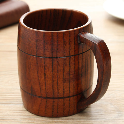Eco-friendly Wooden Mug 300 ml