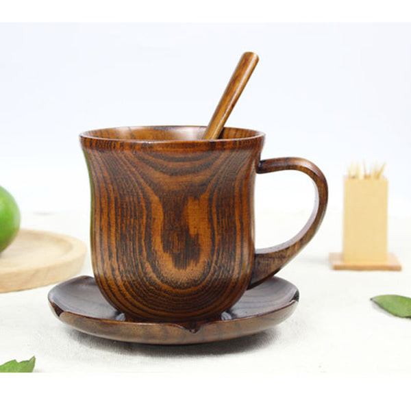 Natural Wooden Handmade Coffee Mug