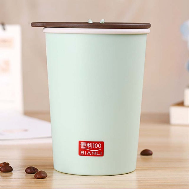 BPA Free Insulated Plastic Coffee Cup 300ml