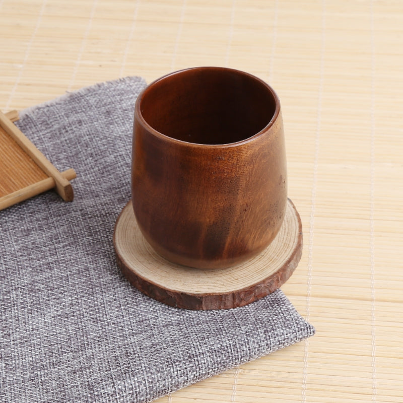 Eco Handleless Wood Coffee Mug