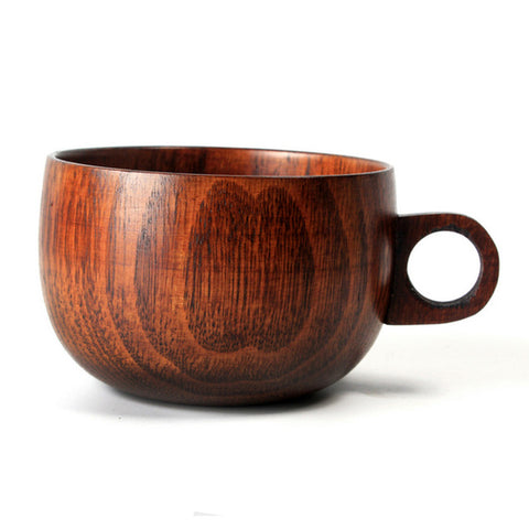 Handmade Spruce Wood Tea Coffee Mug
