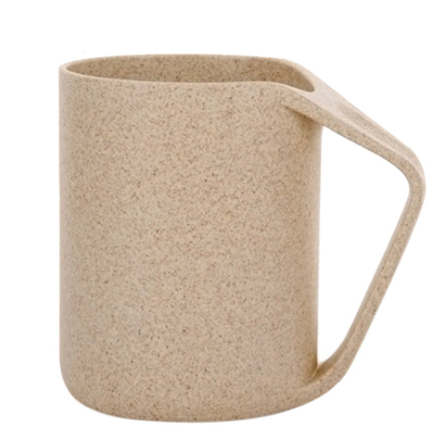 400Ml Eco Friendly Wheat Straw Unbreakable Mug