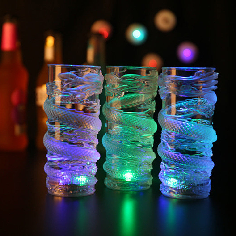 LED Glowing Colorful 3D Carved Mugs