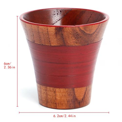 Handmade Natural Solid Wood Cups