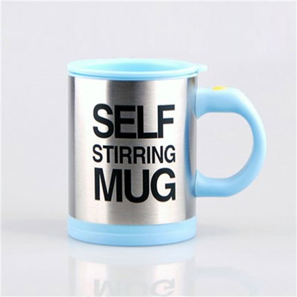 400 ML Self Stirring Double Insulated Plastic Mug