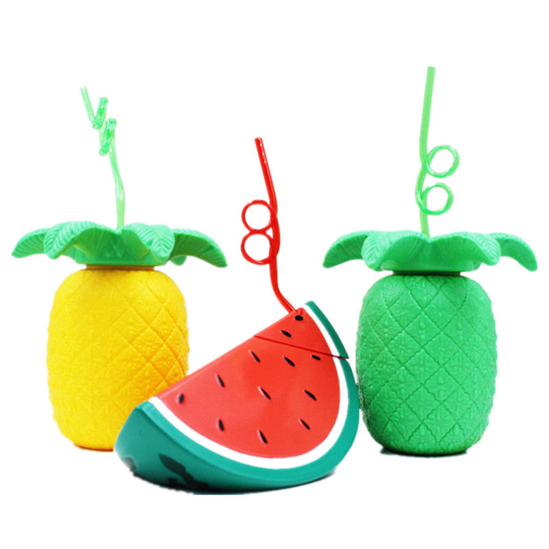 Beach Fruit Mugs