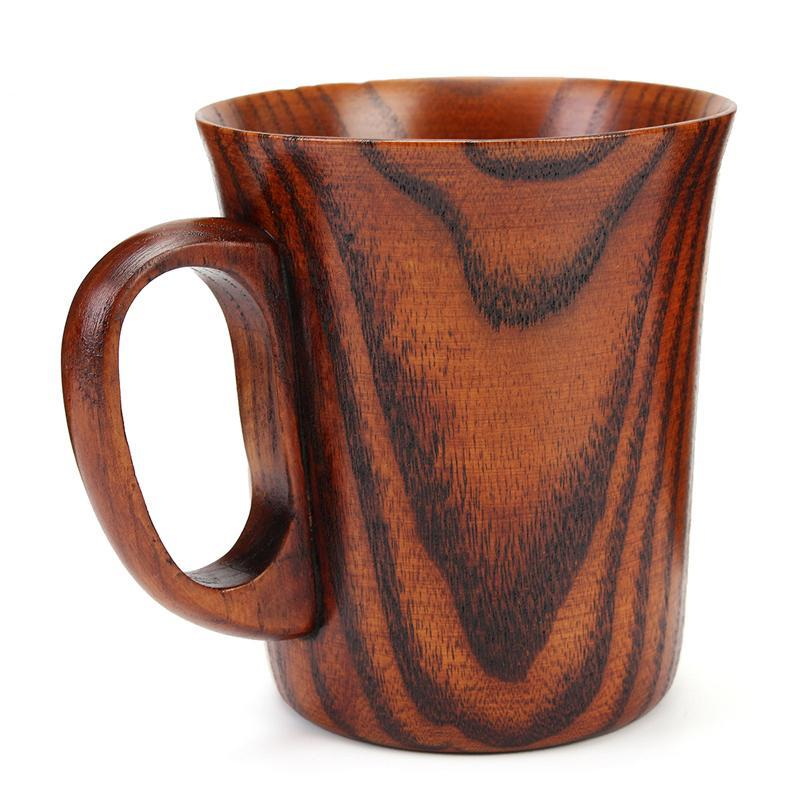 Primitive Wooden Mug