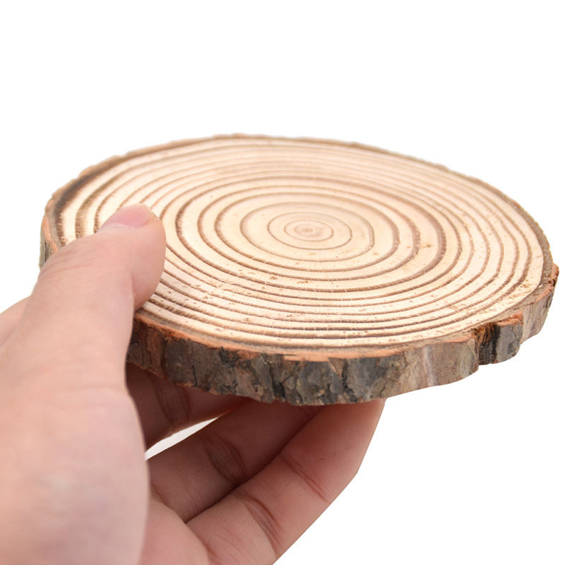 Natural Round Wooden Cup Coaster
