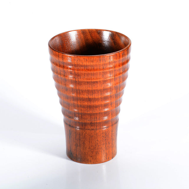 New High Quality Hand-made Wooden Mug