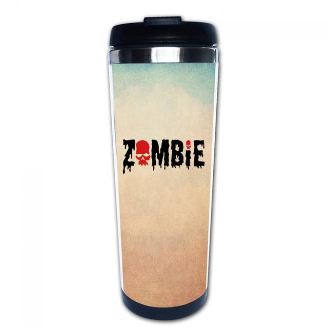 Zombie Stainless Steel Coffee Mug