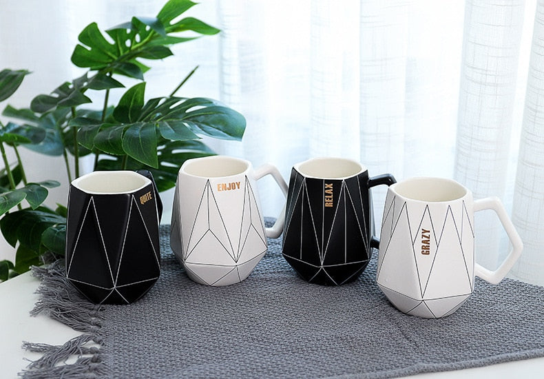 Polygon Ceramic Mug