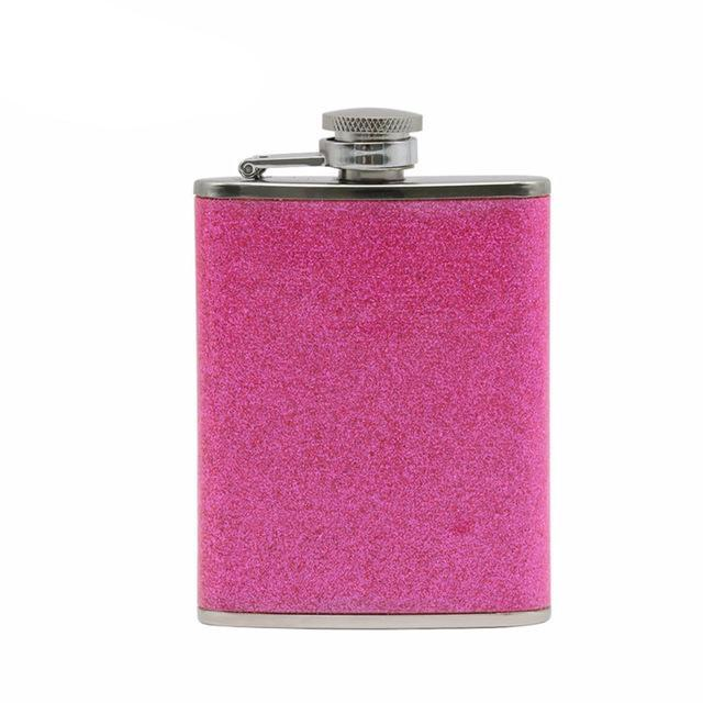 3oz National Style Stainless Steel Hip Flask