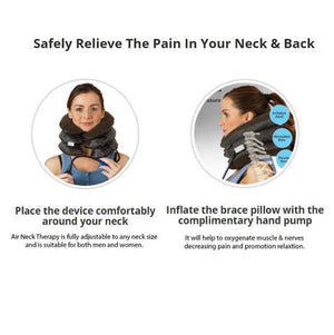 """Air Neck"" Massage Therapy Device"