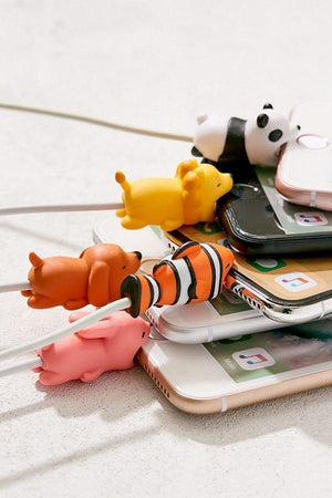 Cute Animal Cable Protector (Set of 3 & 5 Per Pack)