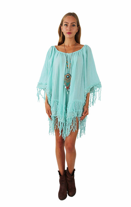 IBIZA COTTON TUNIC DOMINIQUE