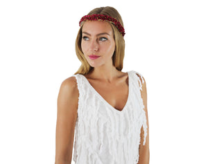 FRINGED IBIZA DRESS ARIELLE