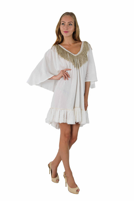 GOLDEN FRINGED TUNIC LOLITA