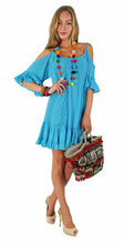 LOOSE DRESS MIRALDA WITH WAVY SLEEVES