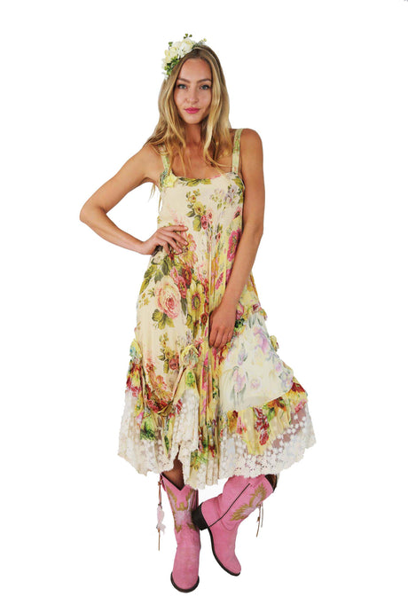 FLOWER POWER DRESS NORA