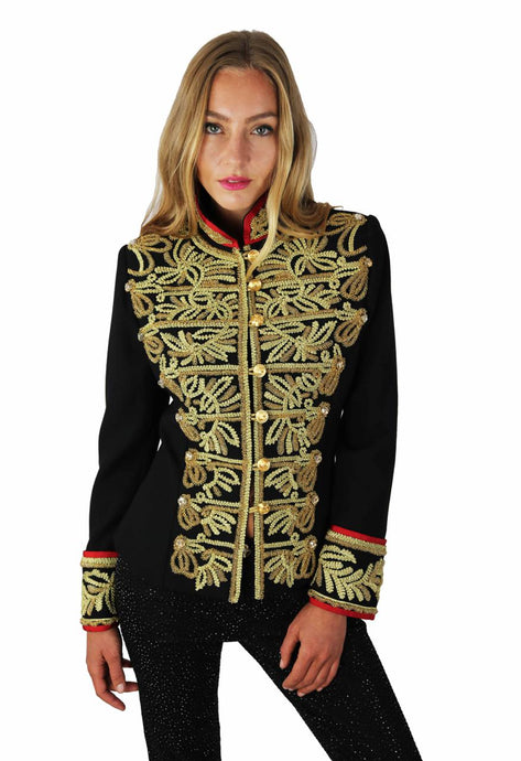 GOLDEN MILITARY JACKET ADMIRAL