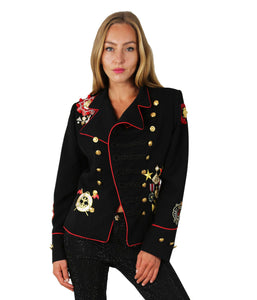 JACKET KORSARIO WITH METAL EMBLEM
