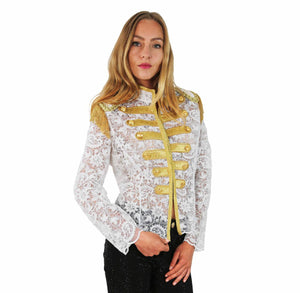 WHITE LACE JACKET PASSIONATA