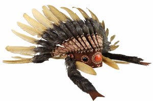 FEATHER HEADDRESS MONTEZUMA