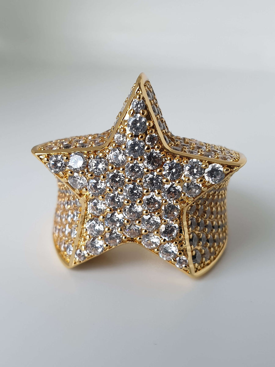 The Shooting Star Ring - 18K Gold