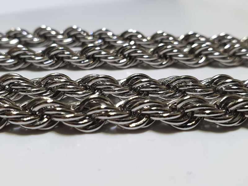 The Stainless Steel Rope Chain - Mancessorize