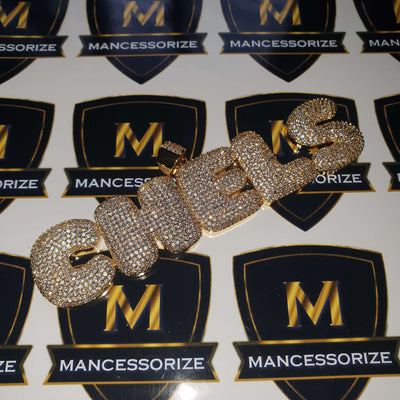 The 24K Gold Plated Custom Bubble Chain - Mancessorize