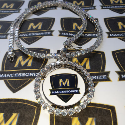 The Custom Rotating Photo Pendant - Mancessorize