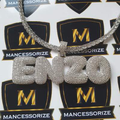 The Silver Custom Bubble Chain - Mancessorize