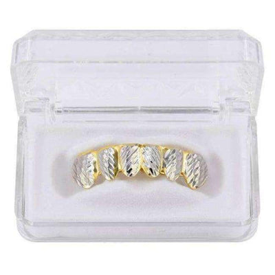 24k Gold Diamond Cut Grillz - Mancessorize