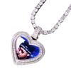 Custom Heart Photo Pendant - Mancessorize