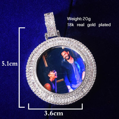 Custom Photo Pendant - Mancessorize