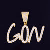 The Cursive Custom Bubble Chain - Gold - Mancessorize