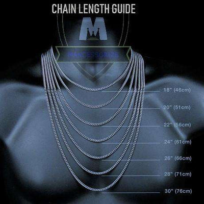 The Silver G-Link Chain - Mancessorize
