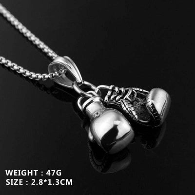 Boxing Gloves Pendant Necklace - Mancessorize