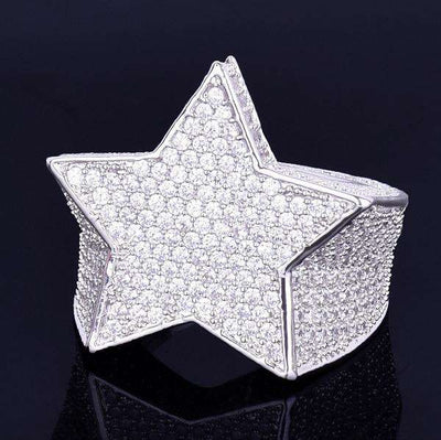 The Shooting Star Ring - Silver