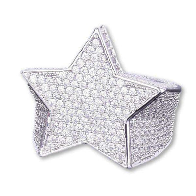 The Shooting Star Ring - Silver - Mancessorize