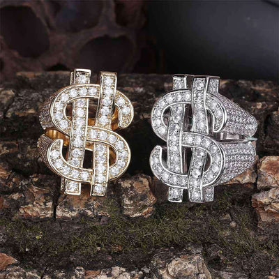 The Dollar Sign Ring - Silver - Mancessorize