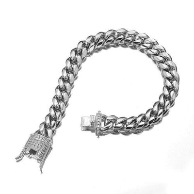 The Stainless Steel Cuban Link Chain - Mancessorize
