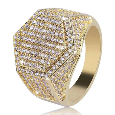 The Hex - 18K Gold plated - Mancessorize