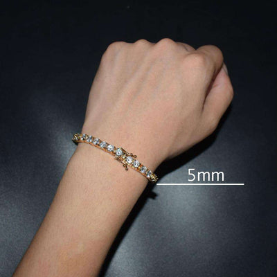 The Tennis Chain Bracelet - Mancessorize