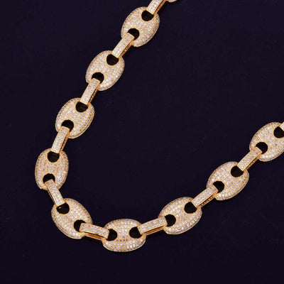 The Gold G-Link Chain - Mancessorize