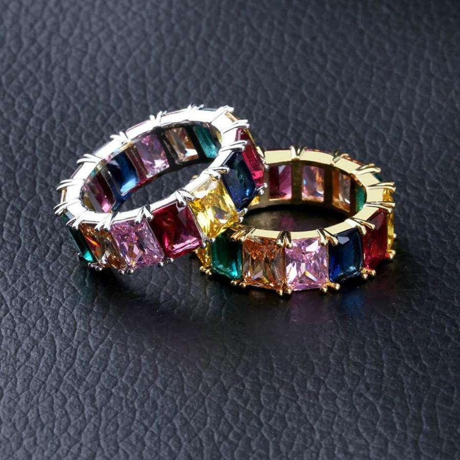 The Rainbow Ring - Silver