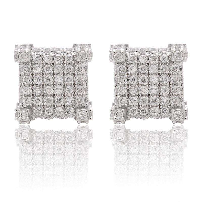 The Iced Out Castle Earrings