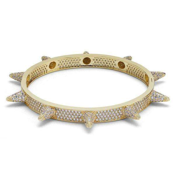The Spike Bracelet - 24K Gold Plated - Mancessorize