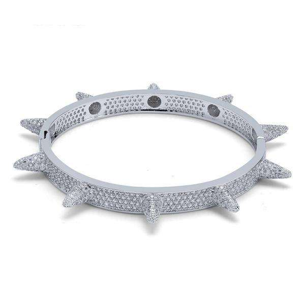 The Spike Bracelet - Silver - Mancessorize